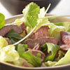 Salade d'agneau à la citronelle