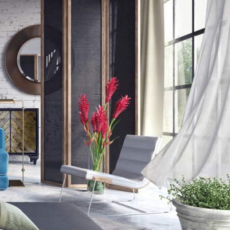 Tendances décoration : les voilages et rideaux.