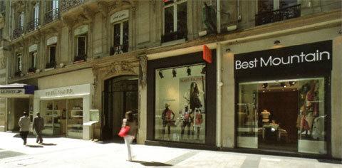 Best Mountain, pause shopping sur les Champs Élysées