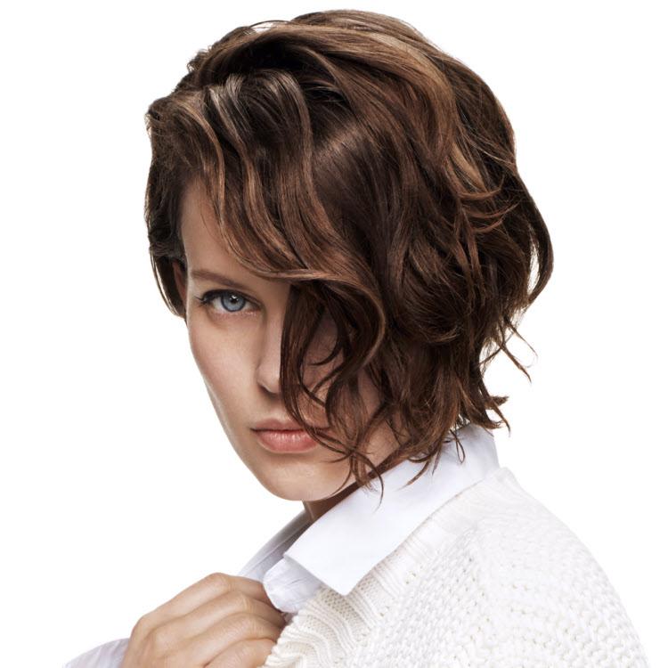 Coupe et coiffure cheveux mi-longs Jean-Louis DAVID - Automne-hiver 2018-2019.