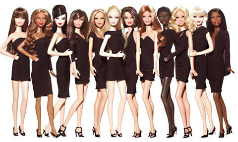 black collection pour Barbie, la plus mini des top model