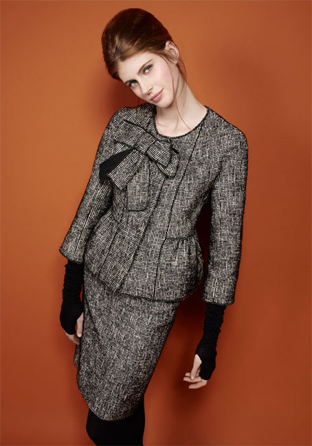 Ensemble en tweed Paule Ka