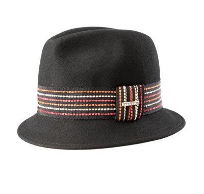 Chapeau bordé d'un galon Stetson