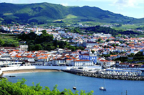 Angra do Heroismo à Terceira aux Açores