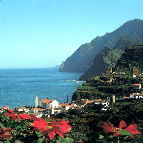 Porto da Cruz, côte nord de l'île de Madère
