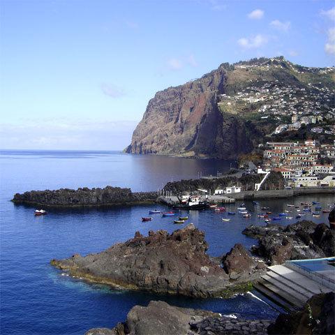 Câmara de Lobos, petit village de pêcheurs non loin de Funchal