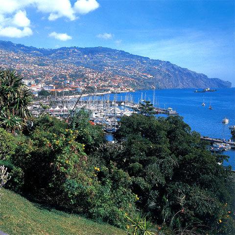 Funchal, la capitale de Madère.