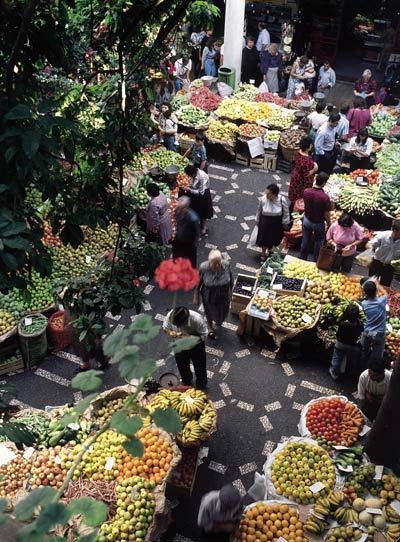 Le Mercado dos Lavradores, marché municipal de Funchal