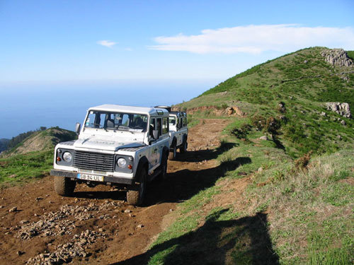 Safari jeep à Madère (DR)