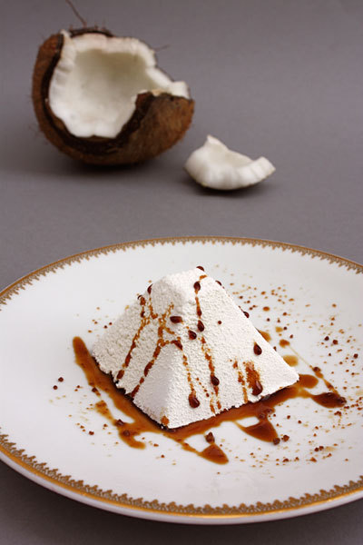 recette : douceur glacée chocolat coco