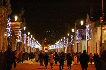 Photo : L'avenue de Champagne un jour de décembre (crédit @ville d'Épernay)