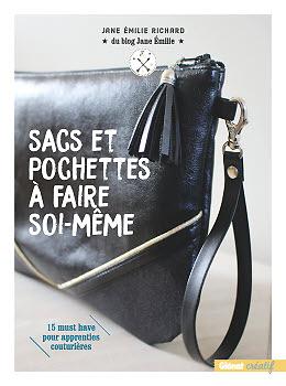 Sacs, pochettes à faire soi-même, de Jane Emilie Richard, publié par Glénat créatif