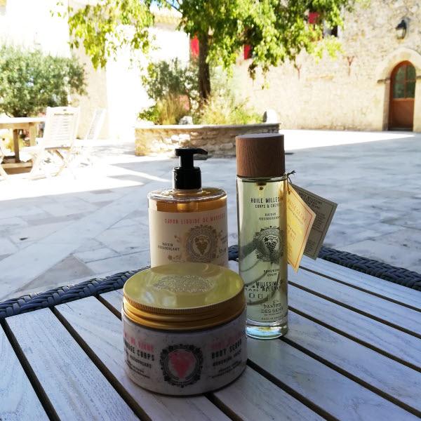 Panier des Sens, soins cosmétiques produits en Provence © ABCfeminin.com.