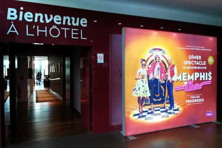 Le spectacle Memphis au Resort Barrière de Lille en 2018 © ABCfeminin.com.