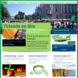 Irlande, l'office du tourisme qui a obtenu le Travel d'Or 2011