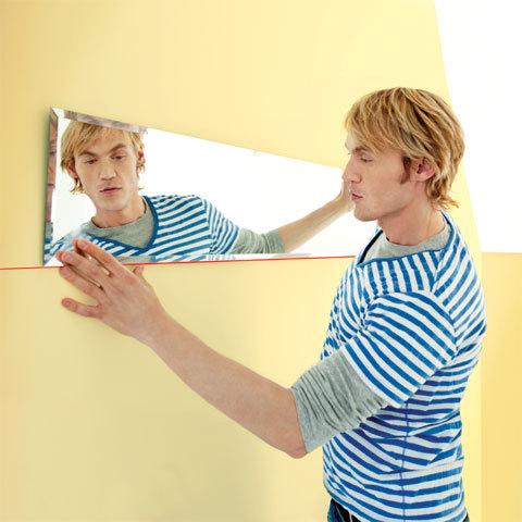 Pose d'un miroir avec le Quigo de Bosch