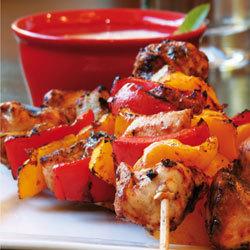 recette : brochettes de poulet cuisson barbecue