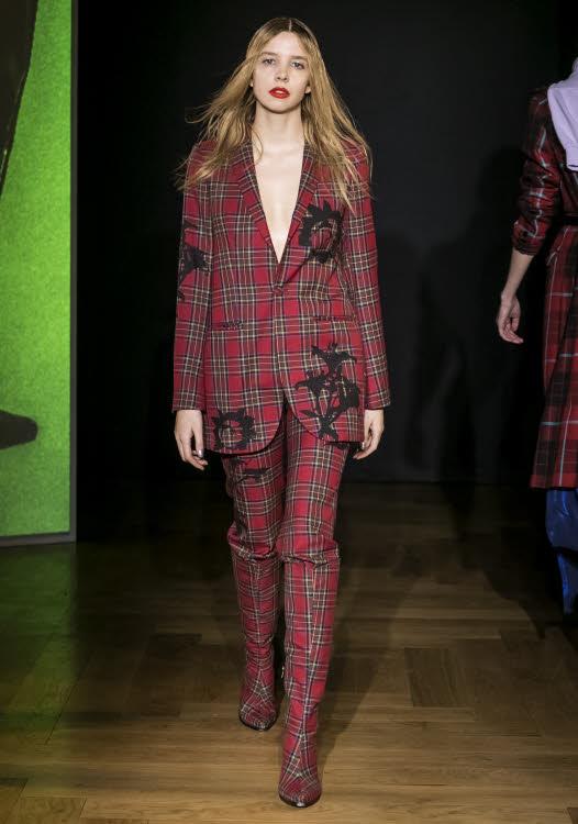 Costume tissu écossais EACH OTHER