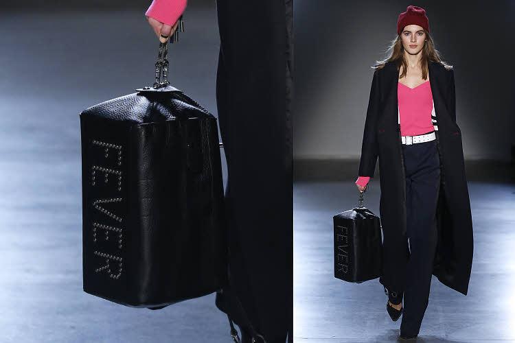 Sac baluchon style sac de boxe :  ZADIG & VOLTAIRE - AH 2018-19