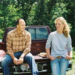 Katherine Heigl et Lucian Mcafee dans 'Working Love'