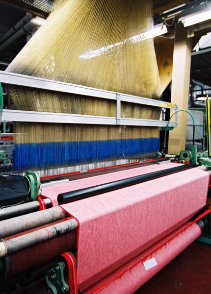 Photo : tissage du lin  © Confédération Européenne du Lin et du Chanvre.