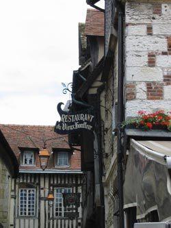 Le restaurant Au Vieux Honfleur