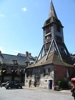 Honfleur, Le clocher de l'église Sainte-Catherine