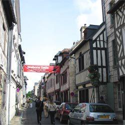 Honfleur - Maisons Satie