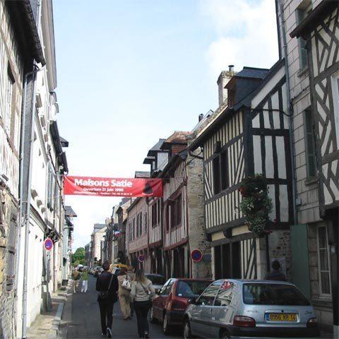 Maisons Satie à Honfleur