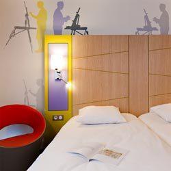 Une chambre du All Seasons, le tout compris en hôtellerie économique © Jacques-Yves-Gucia