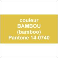 couleur Bamboo - Pantone®