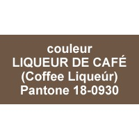 couleur Coffee liqueúr - Pantone®