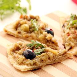 recette de la Pitza aux Olives d'Espagne © Pierre Olivier