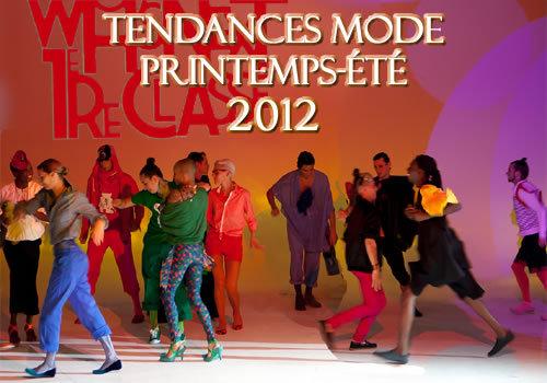 Toutes les tendances de la mode printemps-été 2012