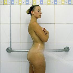 douche aux jets ©S. Kempinaire