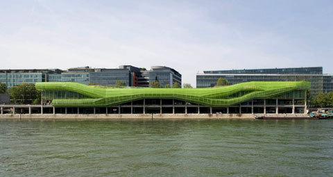 Cité de la Mode et du Design © JAKOB + MACFARLANE - Nicolas Borel