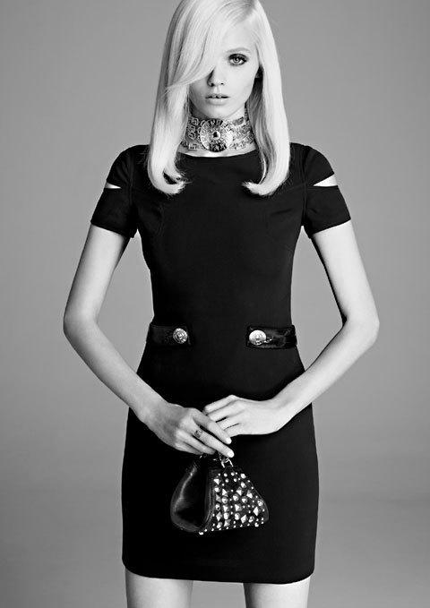 Robe en soie Versace pour H&M