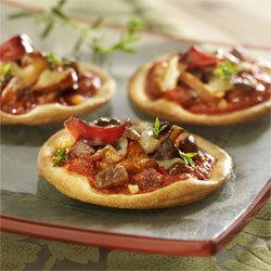 Recette Pizza au magret de canard à la sauce Mutti