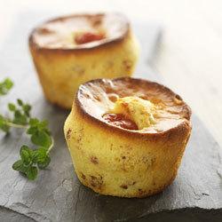 Recette snacking : Muffins aux Pomodorini di collina Mutti