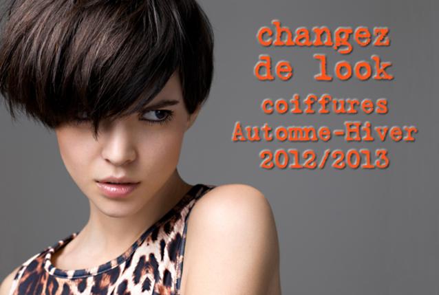 nouvelles tendances coiffures Automne Hiver 2012 / 2013 -  Coiffure Saint Algue