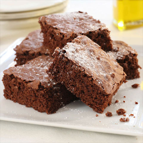 Zoom Brownies suprêmes à l'huile d'olive extra vierge