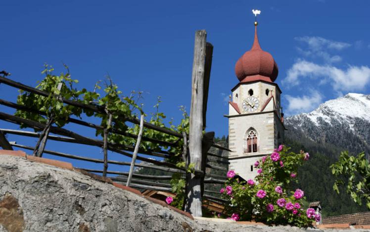 Sud Tyrol, village de Parcines.