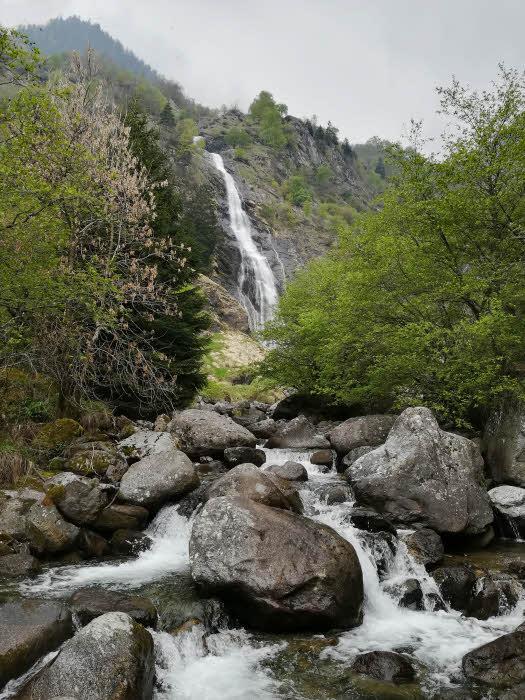 Cascade de Parcines dans le Sud Tyrol © ABCfeminin.com.