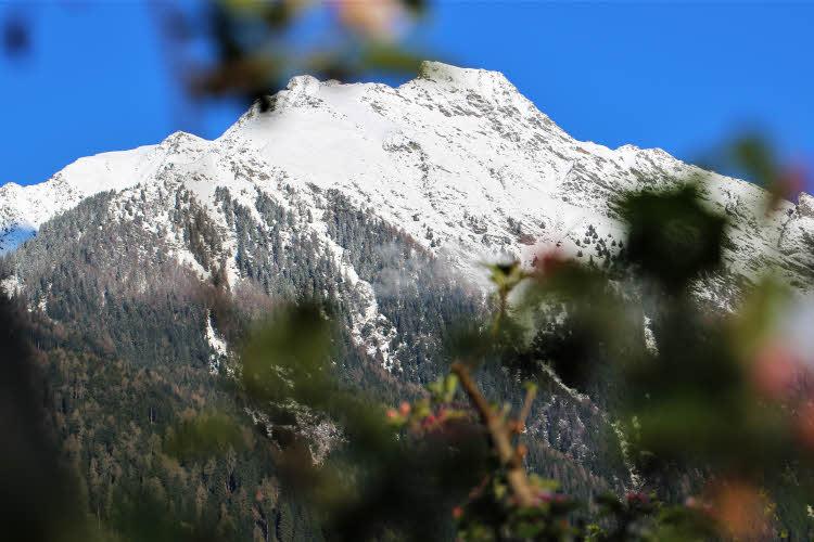 Le 7 magique de la montagne Partschinser dans le Sud Tyrol.