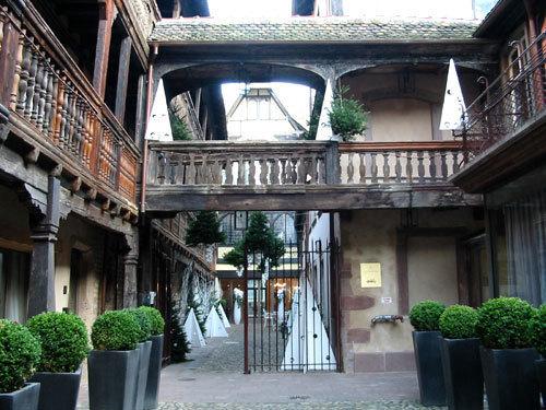 La Cour du Corbeau à Strasbourg (D.R.)