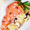 Recette de Grégory Cuilleron - Gravelax de saumon salade de pommes de terre truffées