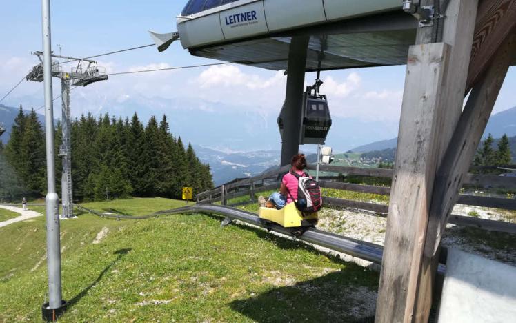 Stubai Tyrol, Alpine Coaster de Mieders © ABCfeminin.com