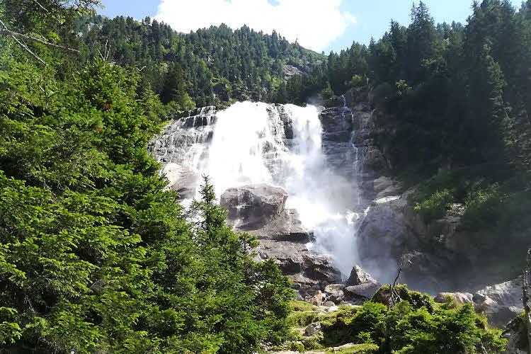 Cascade Grawa, vallée de Stubai au Tyrol © ABCfeminin.com.
