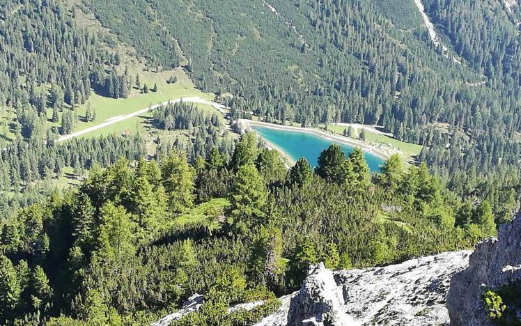 Panorama de la vallée de Stubai au Tyrol © ABCfeminin.com.