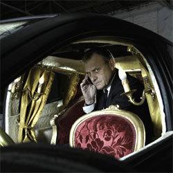 Jean-Charles de Castelbajac et la nouvelle Renault Twingo revisitée © Khanh Renaud